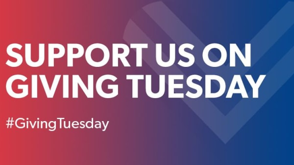 Support us on Giving Tuesday 2019