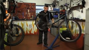 De'ils On Wheels bike workshop