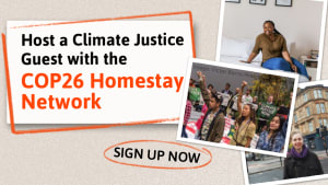 COP26 Homestay Network launched