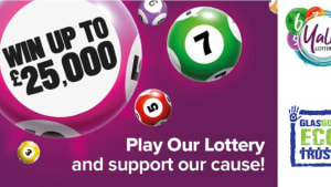 Play the Glasgow Community Lottery and support our work