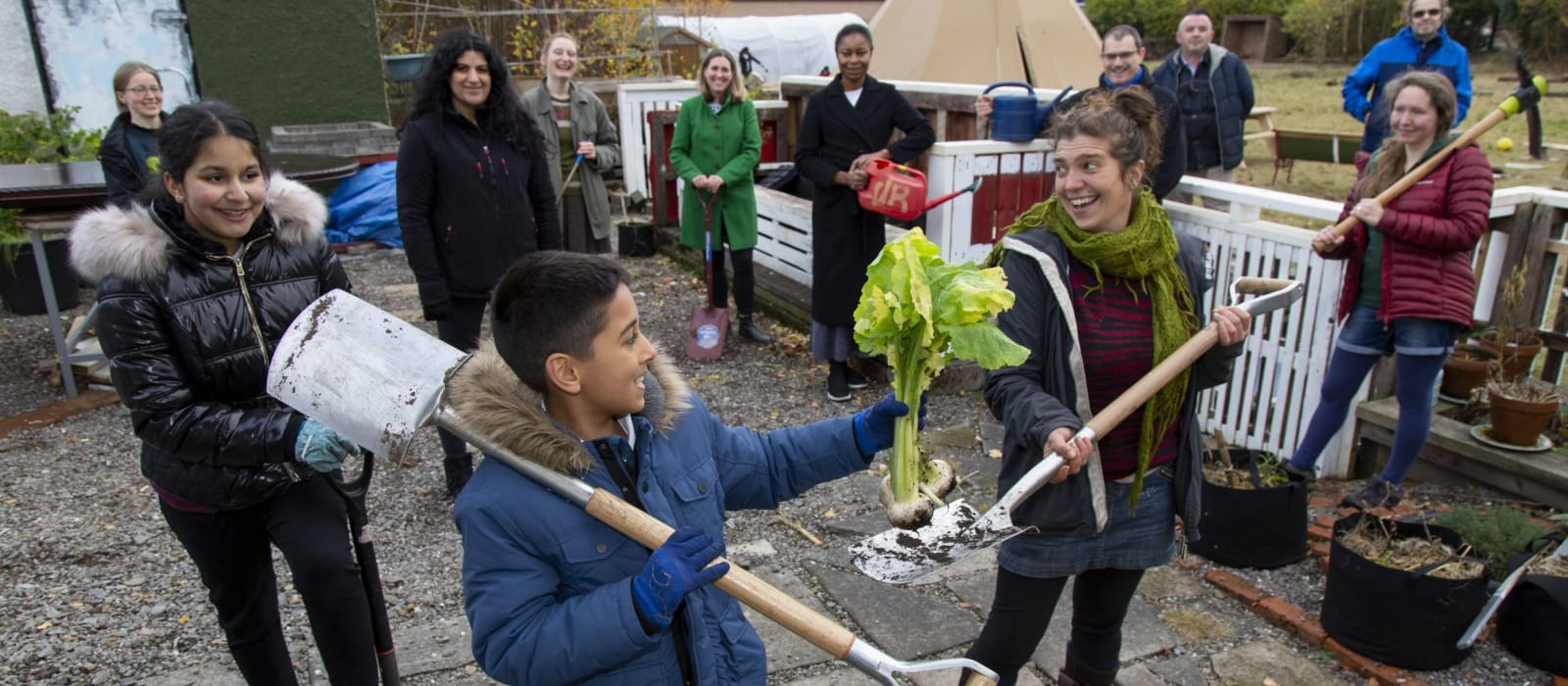 National Lottery £600K brings Glasgow community food partners together to act on climate change