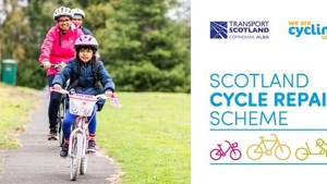 Scotland Cycle Repair Scheme launched