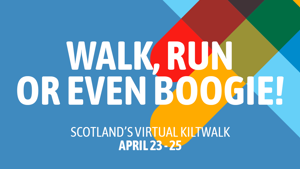 Kiltwalk virtual fundraiser